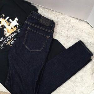 Big Star Alex midrise skinny jeans